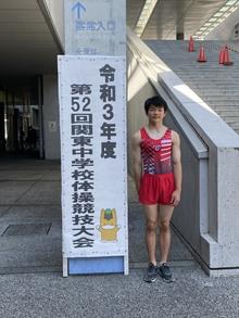 第52回関東中学体操競技選手権大会